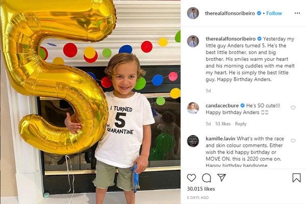 Anders Reyn Ribeiro's birthday