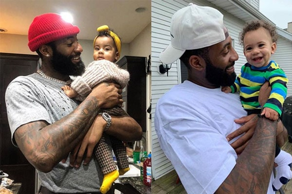Andre Drummond's adorable children