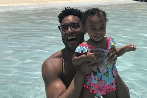 Evan Turner's daughter, Aubrey Marie Holland