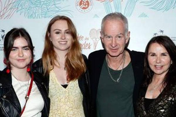 Ava McEnroe's family