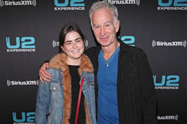 John McEnroe's daughter, Ava McEnroe