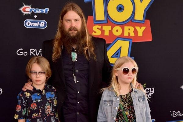 Chris Stapleton's eldest kids