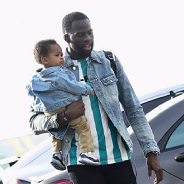 Meet Draymond Jamal Green – Photos Of Draymond Green's Son With Baby Mama
