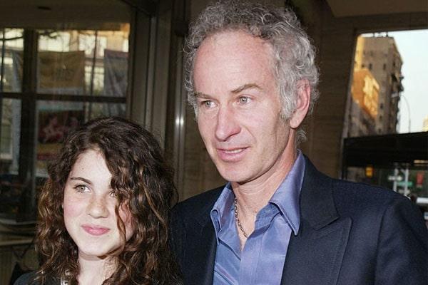 John McEnroe's daughter, Emily McEnroe