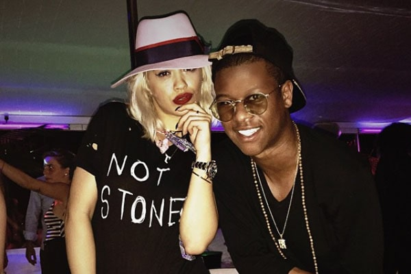 Gianni Harrell and Rita Ora