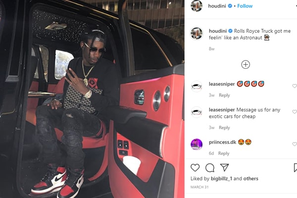 Toronto Rapper Houdini dies at the age of 21