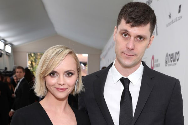 Christina Ricci and James Heerdegen