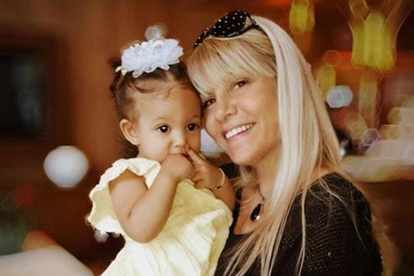 Former NBA player, Dennis Rodeman's baby mama