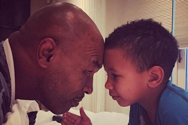 Mike Tyson's son, Morocco Tyson