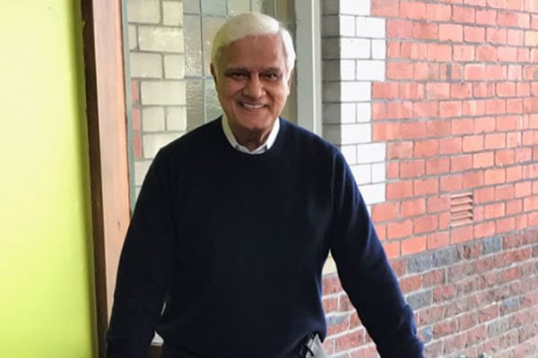 Nathan Zacharias' dad is Ravi Zacharias