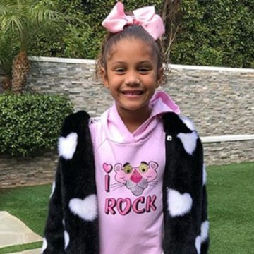 Meet Olivia George – Photos Of Paul George And Daniela Rajic's Daughter