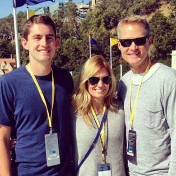 Meet Nick Kerr – Photos Of Steve Kerr's Son With Wife Margot Kerr