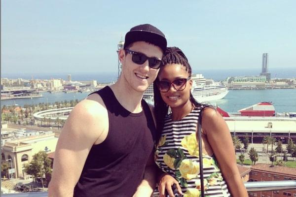 Aron Baynes' spouse, Rachel Adekponya`