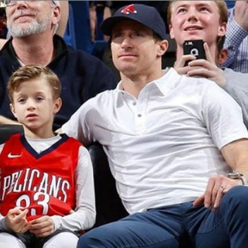 Meet Bowen Christopher Brees – Photos Of Drew Brees' Son With Wife Brittany Brees