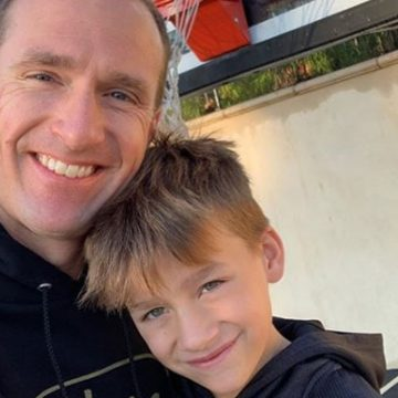 Meet Callen Christian Brees – Photos Of Drew Brees' Son With Wife Brittany Brees