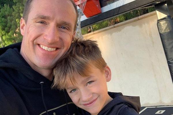 Drew Brees' son, Callen Christian Brees