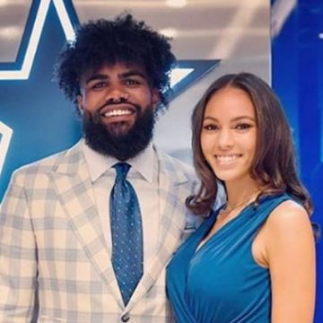 Who Is Ezekiel Elliott's Girlfriend Halle Woodard? Are They Secretly Married?