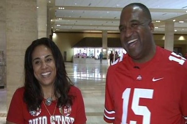 Ezekiel Elliott parents as student-athletes