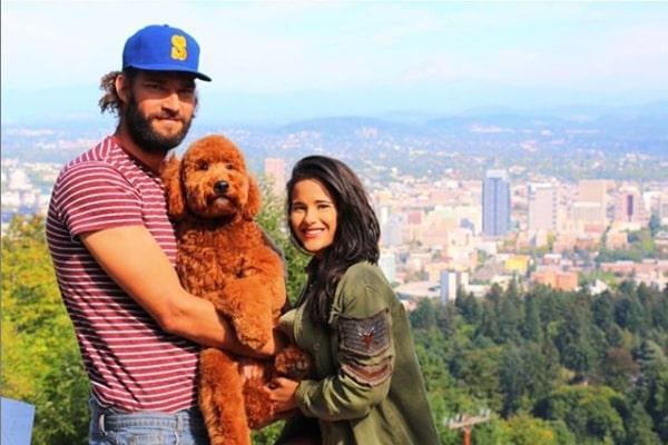 Robin Lopez's girlfriend Christine Vargas