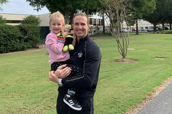 Drew Brees' daughter, Rylen Judith Brees