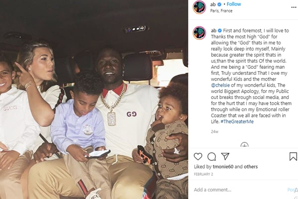 Antonio Brown's Apology to his baby mama Chelsie Kyriss
