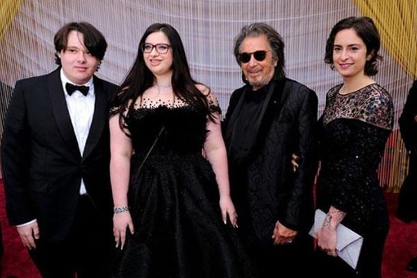 Al Pacino's twin children, Olivia and Anton Pacino