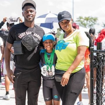 Meet Antanyiah Brown – Photos Of Antonio Brown's Daughter Wiltrice Jackson