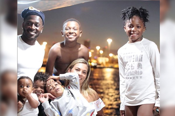 Antonio Brown's Children