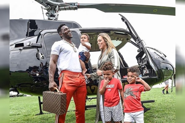 Antonio Brown's children