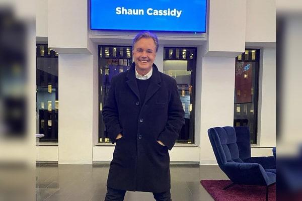 Shaun Cassidy's son Caleb Cassidy