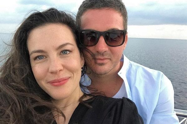 Liv Tyler's fiance Dave Gardner