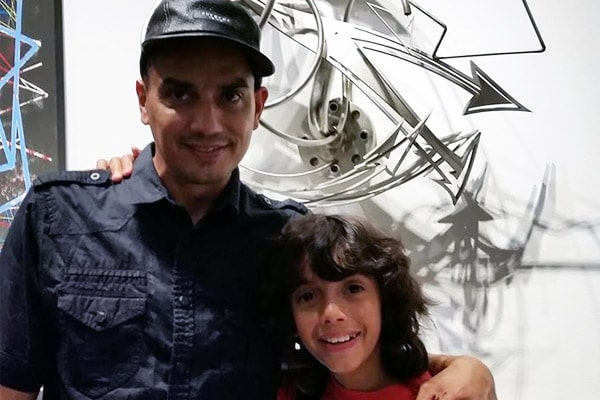 Robert De Niro's daughter Drena De Niro, Robert De Niro's grandson