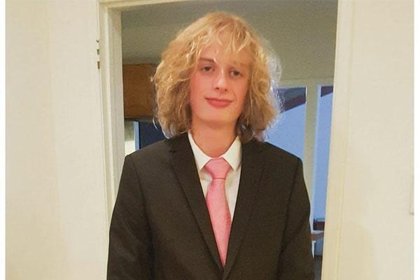 Tracy Nelson's son, Elijah Nelson Clark
