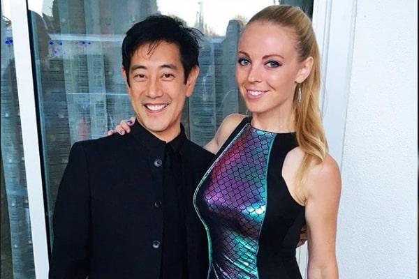 Grant Imahara and fiancee Jenny Newman