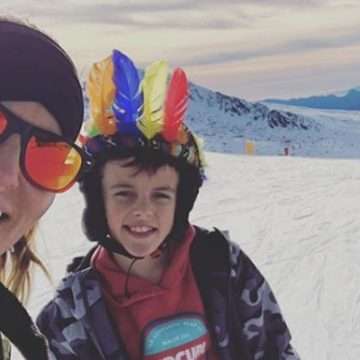 Meet Grey Gardner – Photos Of Davinia Taylor's Son With Ex Dave Gardner