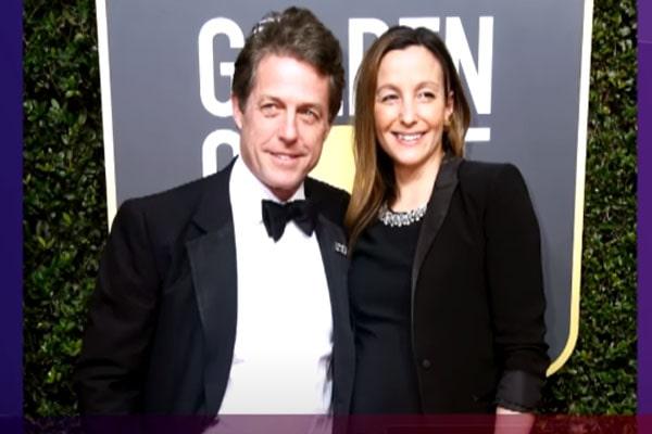 Hugh Grant's wife, Anna Eberstein