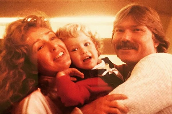 Jacqueline Carlin's son