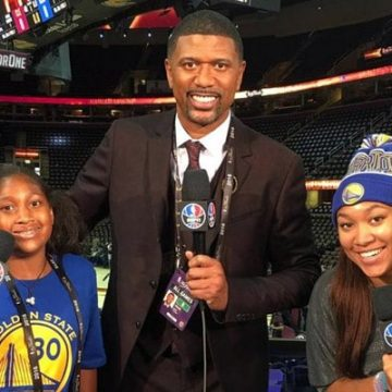 Jalen Rose Is A Father Of 3 Children, 2 Daughters And 1 Son
