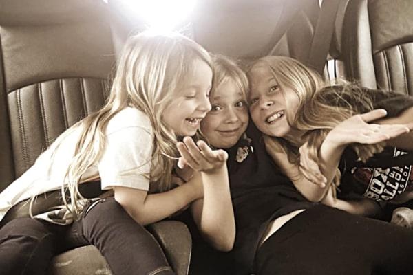 Max Kellerman's children