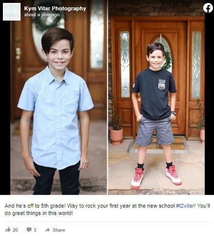 Kym Vitar's son, Wesley Vitar