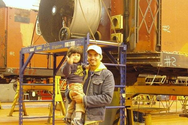 Drena De Niro's son, Robert De Niro's grandson, Leandro De Niro Rodriguez