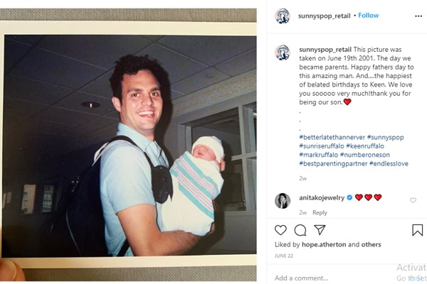 Mark Ruffalo's son Keen Ruffalo