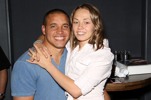 Pat Barry and Rose Namajunas as engaged couple