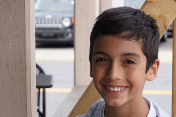 Robert De Niro's grandson Leandro De Nior Rodriguez