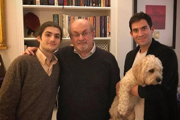 Salman Rushdie sons