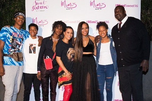 Shaquille O'Neal Family