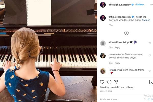Shaun Cassidy's daughter Mairin Cassidy