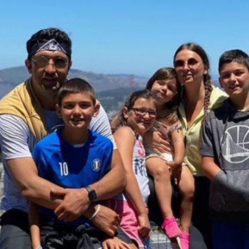 Meet All Of Zaza Pachulia's Children Whom He Had With His Wife Tika Pachulia