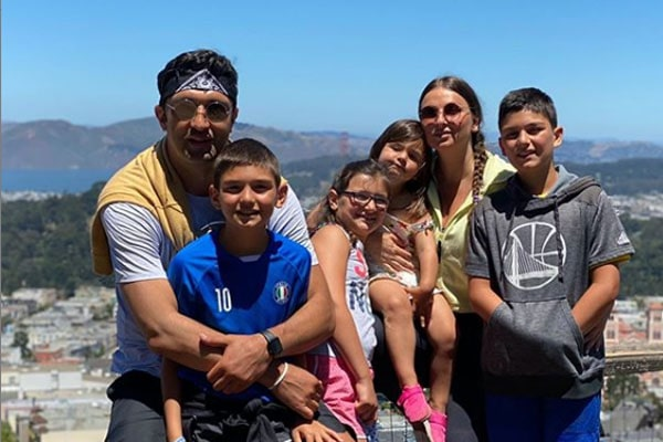 Zaza Pachulia's children