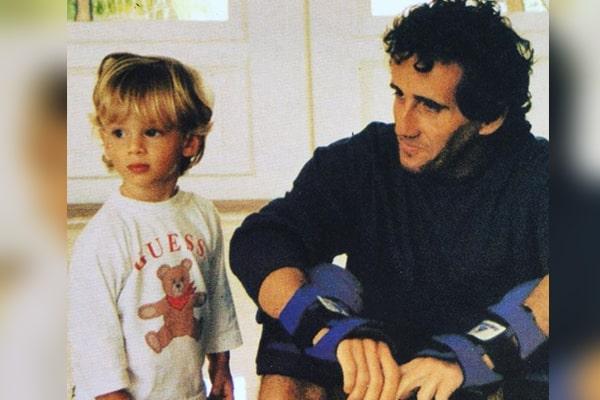 Alain Prost's son Sacha Prost